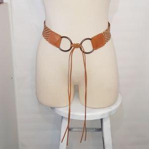 EXPRESS | Boho Vibes Woven Leather Belt